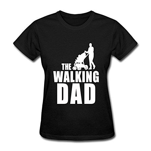 Women's Fathers Day Gift The Walking Dad T Shirt T-shirtYILIAX11636XLarge