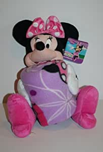 Minnie Throw And Pillow Set : Amazon.com: Disney Minnie Mouse Throw & Pillow Set: Home & Kitchen