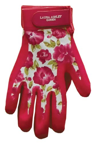 Laura Ashley 3A074550 All Weather Garden Glove, Cressida, Small