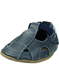 Robeez Navy Fisherman Sandals Navy 0-6