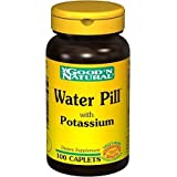 Good 'N Natural, Water Pill Natural Diuretic with Potassium, 100 Tablets