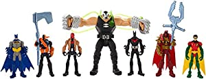 DC Comics Batman Gotham City Bane Battle Figures 7-Pack