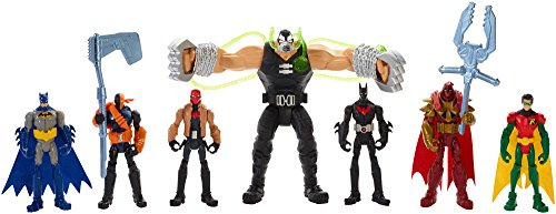 DC Comics Batman Gotham City Bane Battle Figures 7-Pack by MATTEL