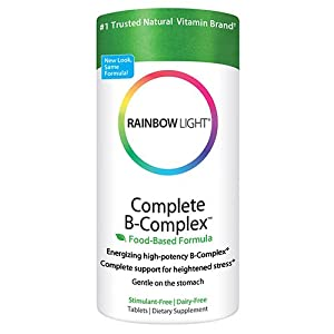 Rainbow Light  Complete B-Complex, Food Based, Tablets , 180 tablets