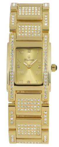 Burgmeister Louisiana BM188-279 Ladies Analogue Quartz Watch with Gold Dial