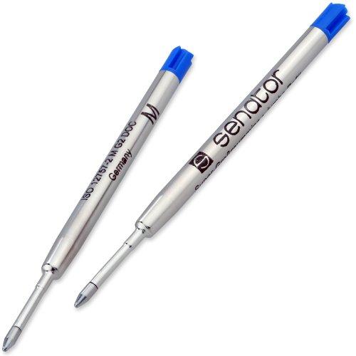 senator-kugelschreibermine-2er-set-metall-grossraummine-farbe-blau-strichbreite-10-mm-g2-parker-typ-