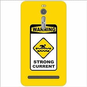 Asus ZenFone 2 ZE551ML Back Cover - Warning Designer Cases