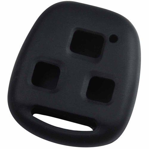 KeyGuardz Black Rubber Keyless Entry Remote Key Fob Skin Cover Protector (Remote Key Cover compare prices)