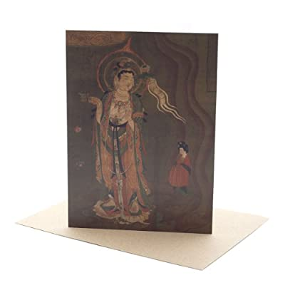 Bodhisattva as Guide of Souls Greeting Card||EVAEX