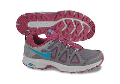 Womens Nike Air Alvord 10 Trail Running Shoe Cool Grey/Sport Fuchsia/Metallic Platinum/Neo Turquoise Size 8.5