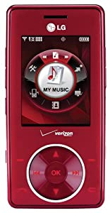 LG VX8500 CHERRY CHOCOLATE CELL PHONE VERIZON CDMA