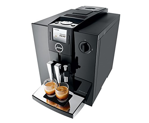 Jura IMPRESSA F8 Automatic Coffee Machine, Black
