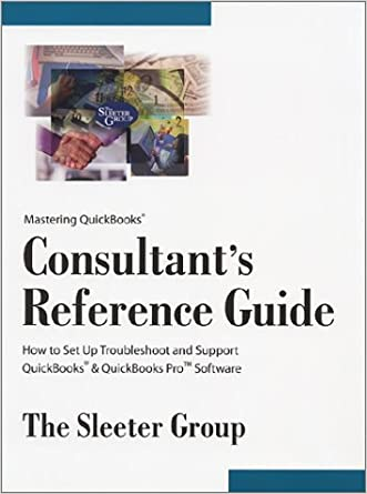 Mastering QuickBooks Consultant's Reference Guide (Version 2002)