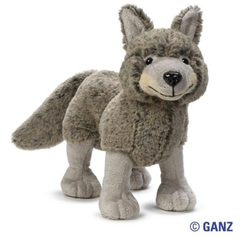 Webkinz Coyote with Trading Cards