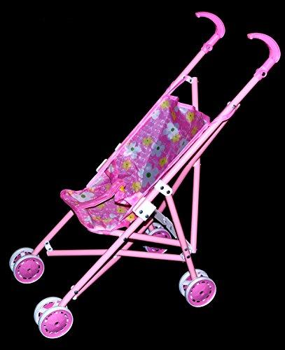 Puppenwagen Kinderwagen Buggy für Spiel Puppen