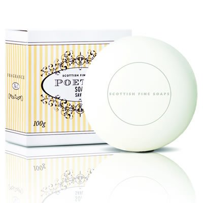 SCOTTISH FINE SOAPS POETICA ソープ 100g 5016365001502