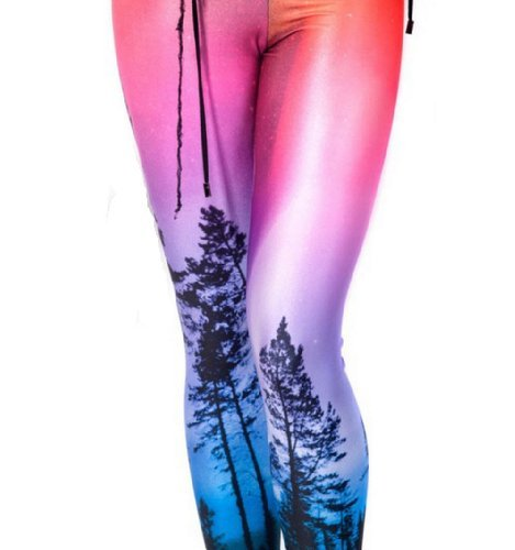 Pink Wind® Aurora Skye Neon Purple Leggings S M L