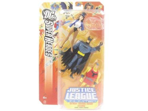 Buy Low Price Mattel Justice League DC Super Heroes: Batman, Shining Knight & Zatanna Figure (B000EGETQQ)