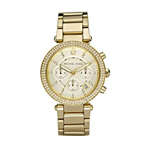 Michael Kors Women's MK5354 Parker Gold Watch
