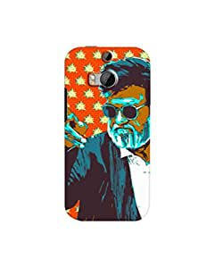 KabaliRajini Phone case for htc m8 by paintcollar.com