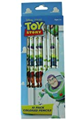 Toy Story and Beyond Colored Pencils - 10 pcs Buzz Lightyear Color Pencil Set