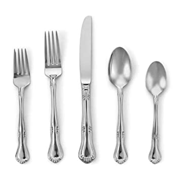 Gorham Valcourt Stainless Flatware 5 Piece Place Setting