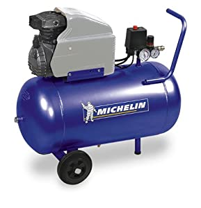 Compresseur d air 50 l 2 cv michelin bricolage - Compresseur d air 50l ...