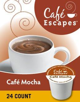 Green Mountain Café Escapes Café Mocha K-Cup front-637547