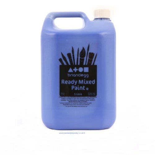 ready-mixed-poster-paint-5-litres-brilliant-blue-children-kids-arts-crafts-ready-mix-poster-paint-by