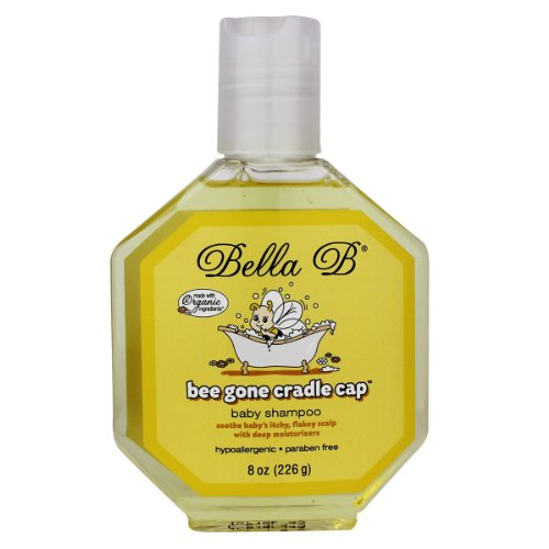 Bella B Bee Gone Cradle Cap Baby Shampoo 8 Oz