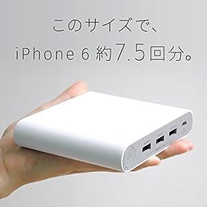 cheero Power Plus 3 Premium 20100mAh モバイルバッテリー ホワイト