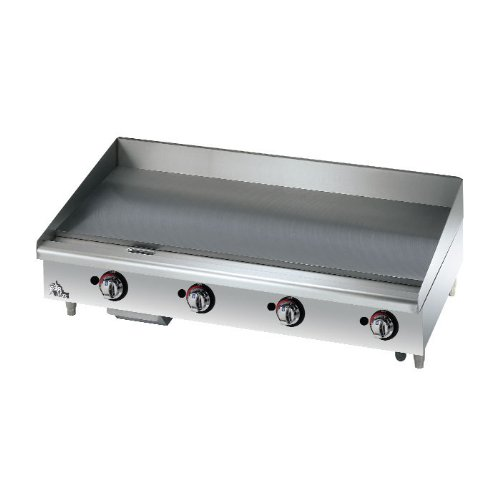 "Star 648Mf 48"" Manual Control Gas Griddle 