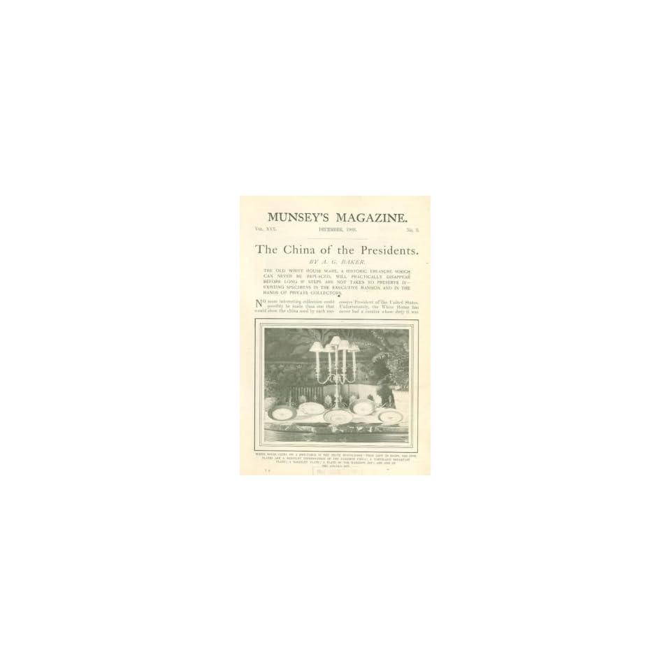 1903 Presidential China Dinnerware White House China