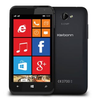 Karbonn Titanium Wind W4 (Black) Just Rs 3,399 Only Limited Stock Only