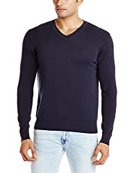 LEE Men's Sweater (LESW1667_Navy_Small)