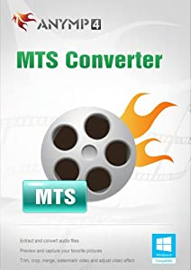 AnyMP4 MTS Converter, 1-User 1-Year [Download]