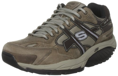 Skechers Men's Kinetix Sneaker   Beige UK 7.5