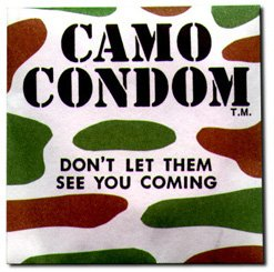 Camo Condoms - 1 Pack