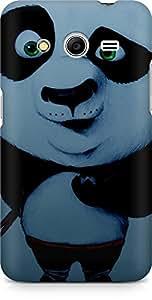 Amez designer printed 3d premium high quality back case cover for Samsung Galaxy Core 2 (Kung fu Panda chopsticks)