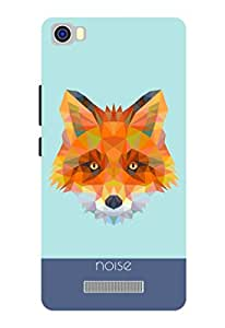 Noise Lava X8 Crystal Fox Printed Cover-Blue