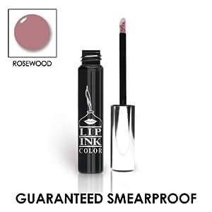 LIP INK® Lip Ink Organic Vegan 100% Smearproof Liquid Lip Stain, Rosewood