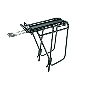 Topeak Super Tourist Tubular Bicycle Trunk Rack DX with Side Bar