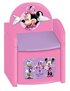 Disney Minnie Mouse Bowtique Sit & Store Chair