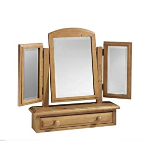 English Heritage Dressing Table Mirror Triple