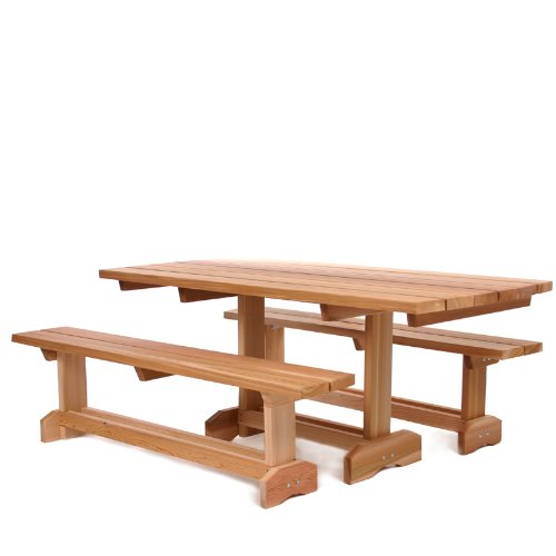 Picnic Table Set : ... Tables and Patio Furniture Sets 3pc. Market Picnic Table Patio Set (8