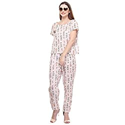 Closet Drama Womens Toffee print jumpsuit ( wjst1-1601S_pink_S )