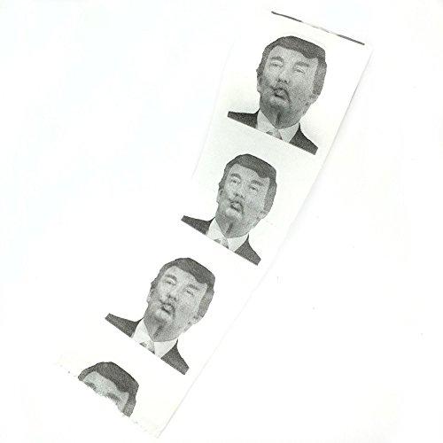 Donald Trump Toilet Paper Novelty Fun tissue Home Bathroom DecorUnit (3 Pieces)