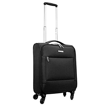 Highbury Super Lightweight 4-Wheel Expandable Spinner Luggage Cases
