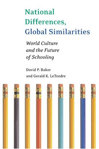 National Differences, Global Similarities: World Culture...