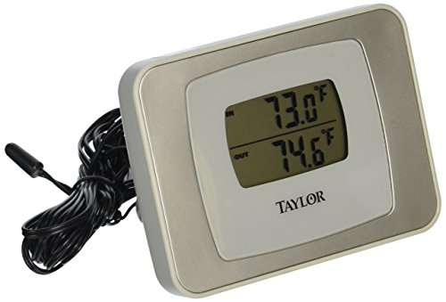 Taylor Precision Products Digital Indoor/Outdoor Thermometer (Taylor Temperature Sensor compare prices)